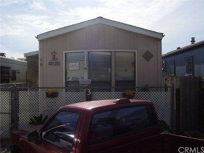 Morro Bay Mobile Home For Sale: 1680 Main Street