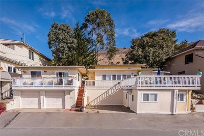 Cayucos Single Family Home For Sale: 3189 Shearer Avenue