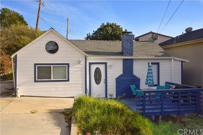 Cayucos Single Family Home For Sale: 198 4th Street