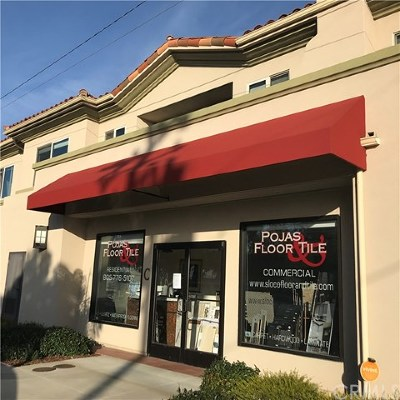 Commercial For Sale: 600 Morro Bay Blvd #C