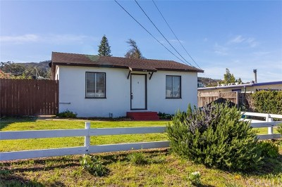 Cambria, Cayucos, Morro Bay, Los Osos Single Family Home For Sale: 457 Manzanita Drive
