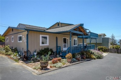 Cayucos Single Family Home For Sale: 700 Saint Mary Avenue