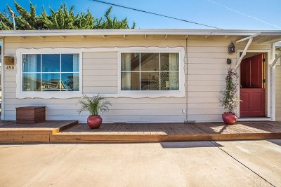 Morro Bay Single Family Home For Sale: 450 Jamaica Street