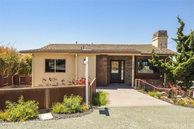 Cayucos Single Family Home For Sale: 1802 Cass Avenue