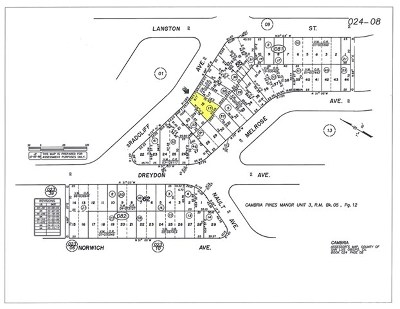 Cambria Residential Lots & Land For Sale: Radcliff Avenue