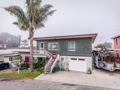 Cayucos Single Family Home For Sale: 2950 Santa Barbara Avenue #5