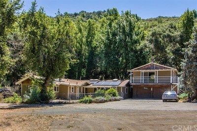 Atascadero Single Family Home Active Under Contract: 14705 Morro Road