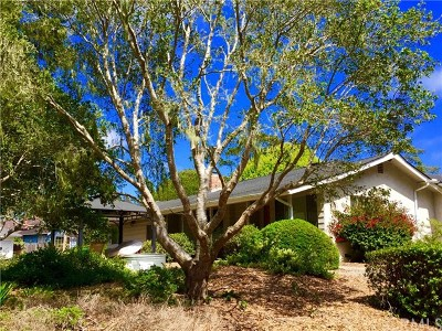 Cambria Single Family Home For Sale: 2599 Pineridge Drive