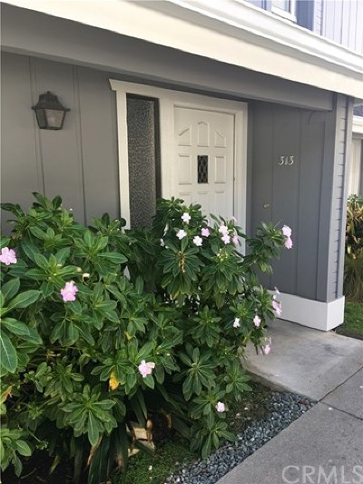 San Luis Obispo County Condo/Townhouse For Sale: 313 Sequoia Street #4