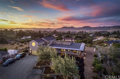 San Luis Obispo County Single Family Home For Sale: 1548 Los Osos Valley Road
