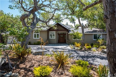 Cambria Single Family Home For Sale: 980 Manor Way