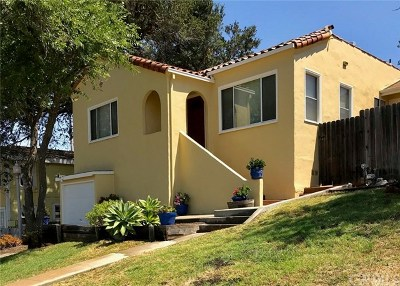 San Luis Obispo CA Single Family Home For Sale: $744,900