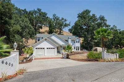 Atascadero Single Family Home For Sale: 6605 Llano Road