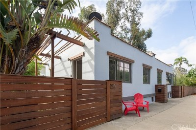 San Luis Obispo Single Family Home For Sale: 507 Dana Street