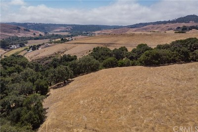 San Luis Obispo County Residential Lots & Land For Sale: Santa Rosa Creek Road