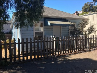 Morro Bay CA Single Family Home For Sale: $415,000