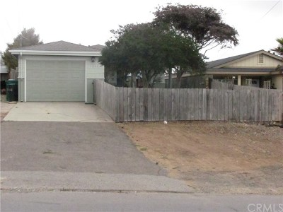 Los Osos Single Family Home For Sale: 1652 9th Street