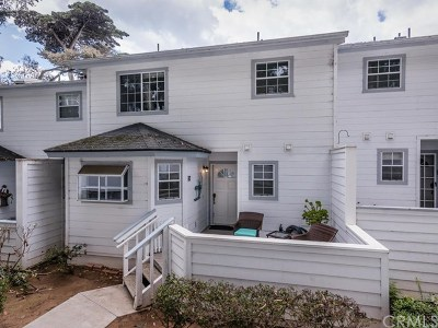 San Luis Obispo County Condo/Townhouse For Sale: 134 Sandpiper Circle