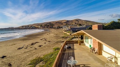 Cayucos Single Family Home For Sale: 8 Ocean Front Lane #A-B