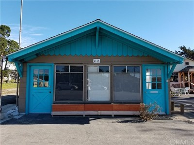 Los Osos Commercial For Sale: 1316 2nd Street