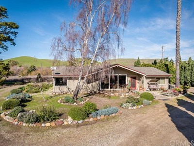 San Luis Obispo CA Single Family Home For Sale: $1,150,000