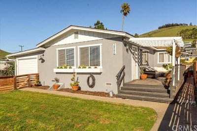 Cambria, Cayucos, Morro Bay, Los Osos Single Family Home For Sale: 2886 Fir Avenue