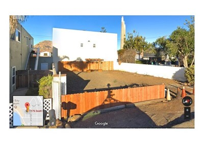 Morro Bay Residential Lots & Land For Sale: 1175 Scott Street