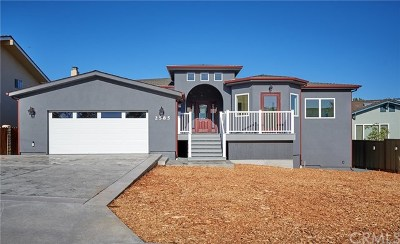 Los Osos Single Family Home For Sale: 2585 Bay Vista Lane