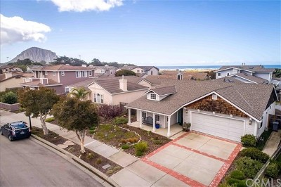 Morro Bay CA Single Family Home For Sale: $999,000