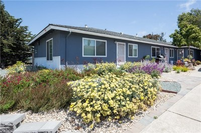 San Luis Obispo County Multi Family Home For Sale: 765 Los Osos Valley Road