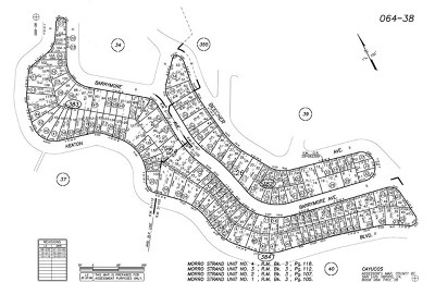 Cambria, Cayucos, Morro Bay, Los Osos Residential Lots & Land For Sale: Paper Roads Cayucos