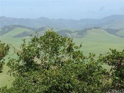 Cambria, Cayucos, Morro Bay, Los Osos Residential Lots & Land For Sale: Norton Lane