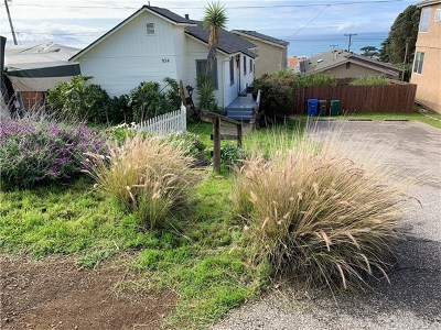Cayucos Rental For Rent: 934 St Mary