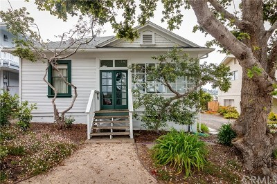 Morro Bay CA Single Family Home For Sale: $599,000