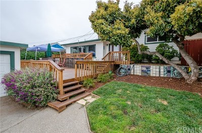 Morro Bay CA Single Family Home For Sale: $625,000
