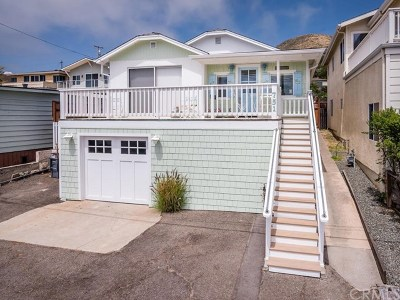 Cayucos Single Family Home For Sale: 751 Saint Mary Avenue