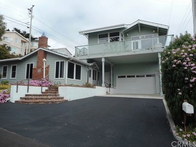 Cayucos Single Family Home For Sale: 188 8th Street