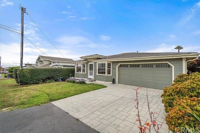 Cayucos Single Family Home For Sale: 41 21st Street