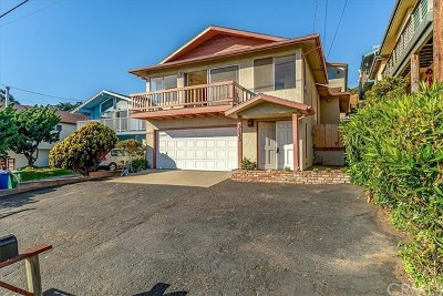 Cayucos Single Family Home For Sale: 3133 Ocean Boulevard