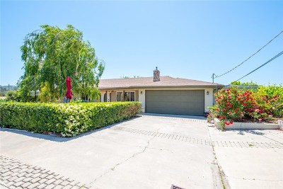 San Luis Obispo Single Family Home For Sale: 5275 Edna Road