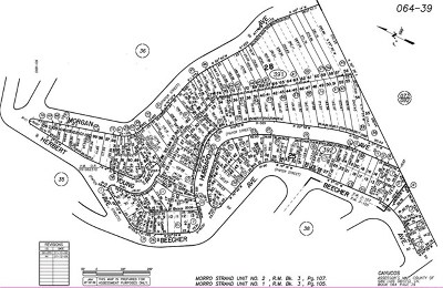 Cambria, Cayucos, Morro Bay, Los Osos Residential Lots & Land For Sale: Hubbard