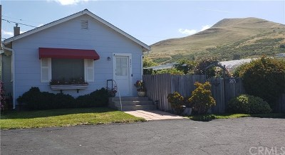Cayucos Single Family Home For Sale: 2871 Ocean Boulevard