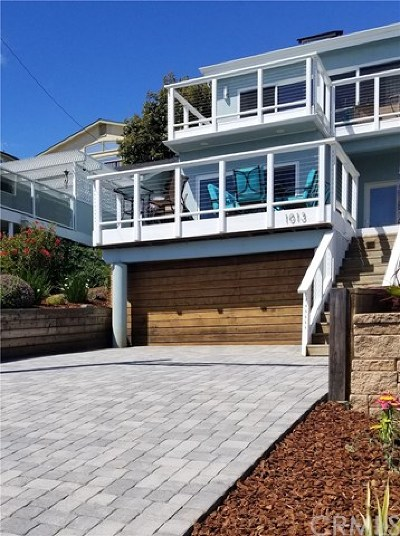 Cambria, Cayucos, Morro Bay, Los Osos Single Family Home For Sale: 1013 S Ocean Ave