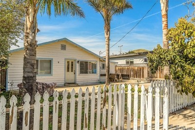 Morro Bay CA Single Family Home For Sale: $499,500