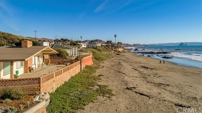 Cayucos Single Family Home For Sale: 8 Ocean Front Lane