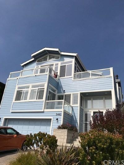 Cayucos Single Family Home For Sale: 3461 Shearer Avenue