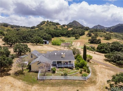 Monterey County, San Luis Obispo County Single Family Home For Sale: 7979 Mary Hall