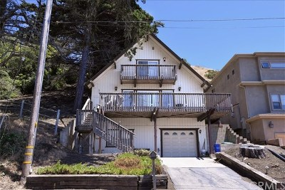 Cayucos Single Family Home For Sale: 464 Hacienda Drive
