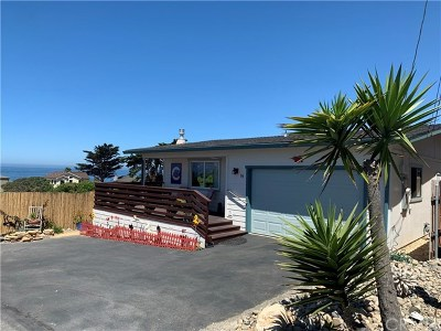 Cambria, Cayucos, Morro Bay, Los Osos Single Family Home For Sale: 89 Del Mar Avenue