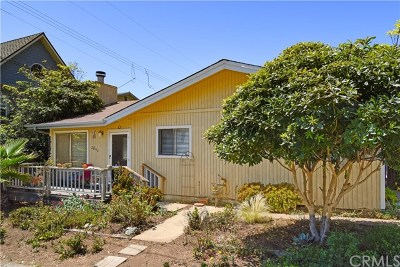 Cayucos Single Family Home For Sale: 2696 Orville Avenue